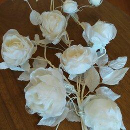 Цветы, букеты, композиции - Цветок декоративный, розовая лоза, текстиль, 0