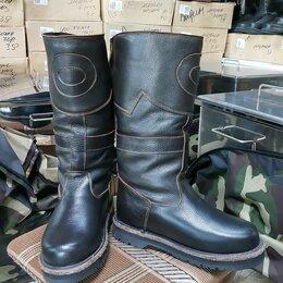 Одежда и обувь - Монгольские сапоги охотник на овчине., 0