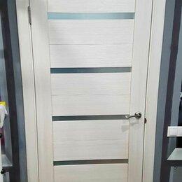 Межкомнатные двери - Дверь q55 лиственница белая, 0