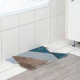 Дизайн, изготовление и реставрация товаров - Коврик для ванной «Мелаж» 400*600 мм 5377990, 0