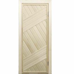 Двери - Дверь банная глухая ПГ-2, 0
