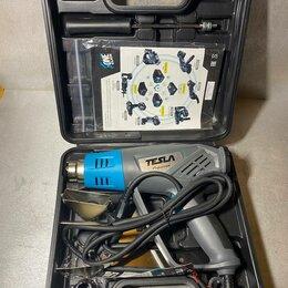 Строительные фены - Фен технический TESLA TH2200LCD, 0