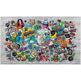 Обои - Обои ТОП ФОТООБОИ в стиле граффити Крутой рокер, 0