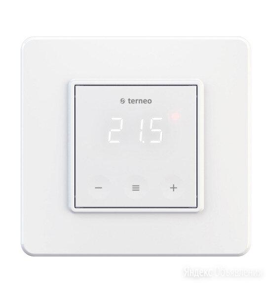 Терморегулятор для теплого пола terneo s сенсорный по цене 2300₽ - Электрический теплый пол и терморегуляторы, фото 0
