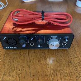 Оборудование для звукозаписывающих студий - Внешняя Аудио карта Focusrite Scarlett Solo 2 Gen, 0