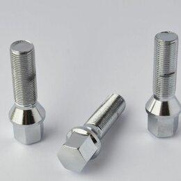 Шины, диски и комплектующие - Болты колесные М14х1,25 (67/40) Хром конус ключ 17, 0