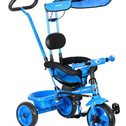 Трехколесные велосипеды - Прокат. Велосипед детский с ручкой для родителей , 0