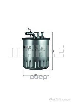 Фильтр Топливный по цене 1040₽ - Двигатель и комплектующие, фото 0