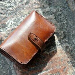 Кошельки - Кожаный бумажник (краст КРС толщиной 2,0 мм)  , 0