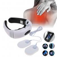 Вибромассажеры - Электростимулятор массажер для шеи Cervical Vertebra neck Massager KL-5830, 0