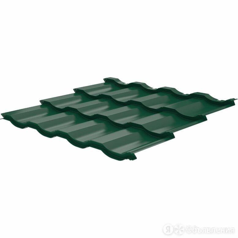 Металлочерепица Геркулес Элит RAL6005 Зеленый Мох 0,45мм модуль 3 волны по цене 745₽ - Кровля и водосток, фото 0