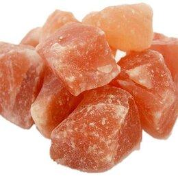 Пена, соль, масло - Розовая гималайская соль для бани и сауны, 0