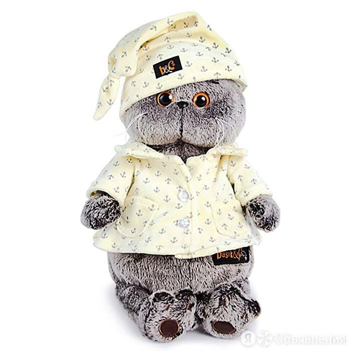 Мягкая игрушка 'Басик в пижаме' по цене 2051₽ - Мягкие игрушки, фото 0