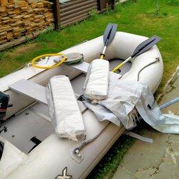 Моторные лодки и катера - Лодка ПВХ 350 см с мотором 5 л.с. производства фирмы HDX, 0