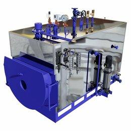 Парогенераторы - Промышленный дизельный парогенератор  ECO-PAR-400, 0