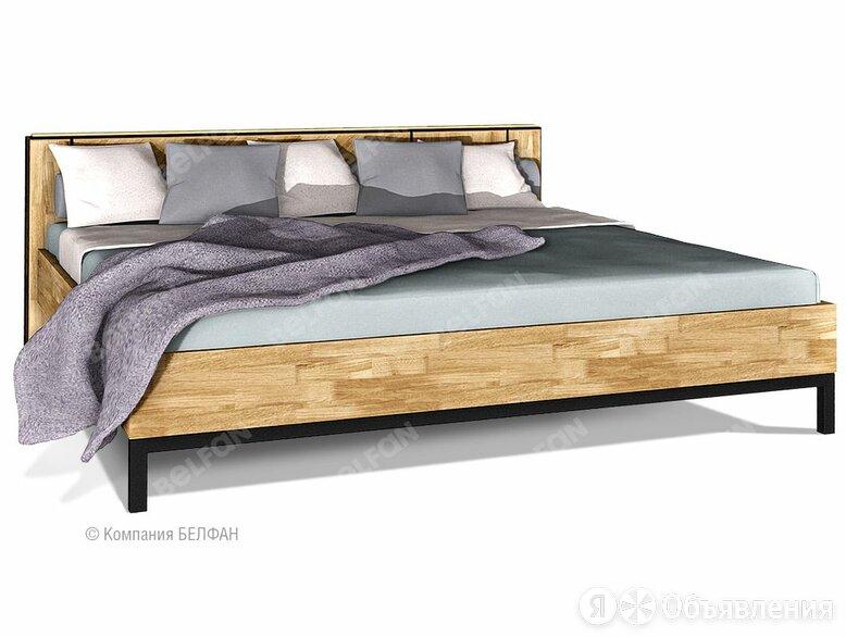 """Кровать """"Cube Design"""" 200У; без основания, без матраса; (2000x2000); графит, ... по цене 87135₽ - Кровати, фото 0"""