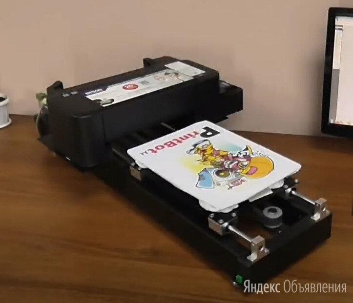 Текстильный принтер DTG A4 по цене 64000₽ - Полиграфическое оборудование, фото 0
