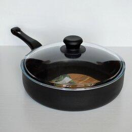 Сковороды и сотейники - Новая большая сковорода / сотейник Strela, 0