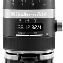 Кофемолки - Кофемолка KITCHENAID 5KCG8433EBM, 0