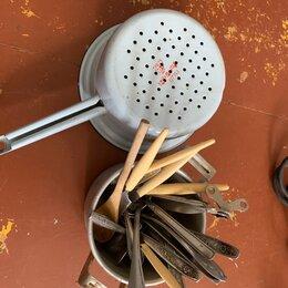 Аксессуары для готовки - Дуршлаг вилки ложки кастрюля , 0