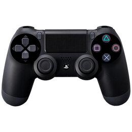 Аксессуары - Джойстик для PS4 черный (оригинал), 0