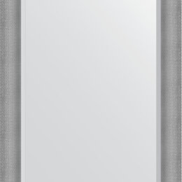 Зеркала - Зеркало Evoform Exclusive BY 3937 77x107 см серебряная кольчуга, 0