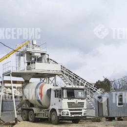 Производство - Мобильный бетонный завод SmartBeton 25 MB, 0