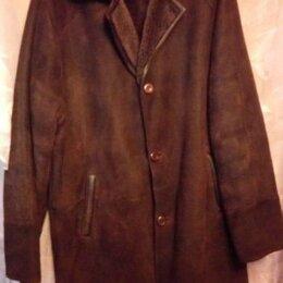 Дубленки и шубы - Старая дубленка коричневая мужская 1990, 0