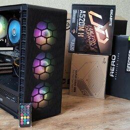 Настольные компьютеры - Игровой пк Ryzen 5 2600\GTX1070\DDR16gb\SSD120gb, 0