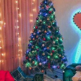 Ёлки искусственные - Искусственная елка с гирляндой, 0