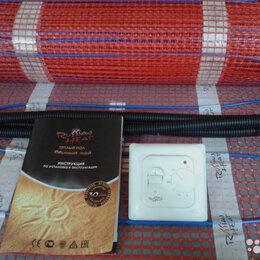 Электрический теплый пол и терморегуляторы - Теплый пол выгодный 5м. кв + терморег, 0