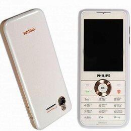 Мобильные телефоны -  Philips Xenium F511 White (новый,оригинал), 0