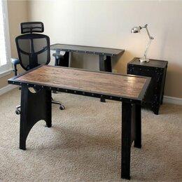 Столы и столики - Стол обеденный лофт индастриал, 0