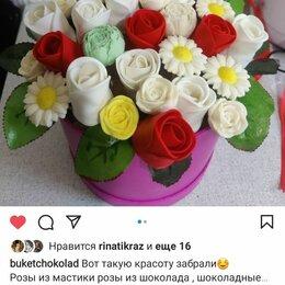 Подарочные наборы - Розы из Бельгийского шоколада, 0