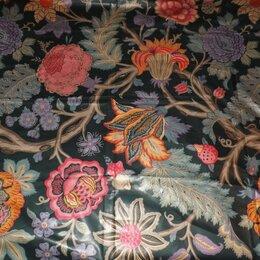 Ткани - Отрез ткани элитного бренда Sаhco Hesslein, хлопок, винтаж, 3,9м., 0