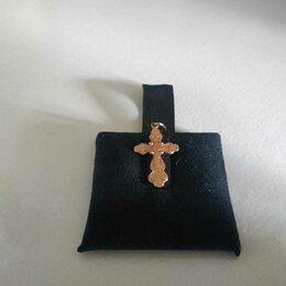 Кулоны и подвески - Золотой крестик 583 пробы, 0