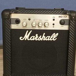 Гитарное усиление - Гитарный Комби Marshall MG10CF. Доставка по РФ, 0