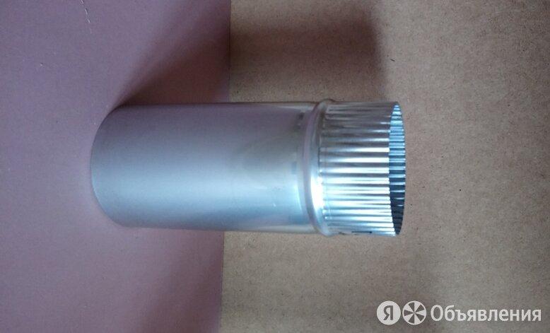 Труба голая D115 мм L = 0,25 м (нерж. 0,5 мм AISI 304) по цене 466₽ - Дымоходы, фото 0