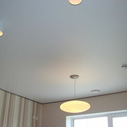 Потолки и комплектующие - Матовые натяжные потолки в рассрочку, 0