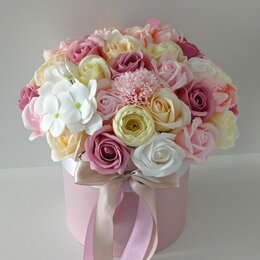 Цветы, букеты, композиции - Букет из мыльных цветов, 0