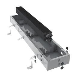 Встраиваемые конвекторы и решетки - Водяной конвектор Jaga Mini Canal h9 l130 t26, 0