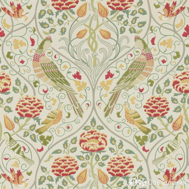 Обои бумажные Morris&Co Archive wallpaper V Melsetter (0,52х10,05) птицы, зел... по цене 14101₽ - Обои, фото 0