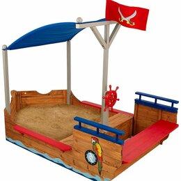Песочницы - Песочница пиратская лодка 00128_ke, 0