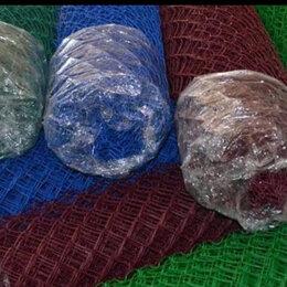 Садовые дорожки и покрытия - Сетка рабица полимер.синяя 50*50*2,5 (1,5х10), 0