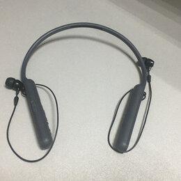 Наушники и Bluetooth-гарнитуры - Беспроводные наушники Sony WL-C400, 0