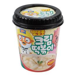 Продукты - Рисовые клёцки токпокки со вкусом крема Пороро Grunamu, стакан 115 г, 0