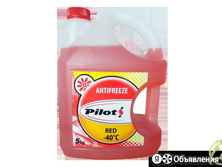 Антифриз pilots (красный / 5кг / -40) по цене 535₽ - Масла, технические жидкости и химия, фото 0