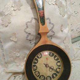 Часы настенные - Кварцевые часы Хохлома, 0