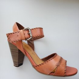 Босоножки - Босоножки женские на квадратном каблуке, 0
