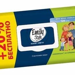 Влажные салфетки - ЭМИЛИ Влажные салфетки ЭКО ORGANIC Детские с овсяным молочком 50шт с крышкой, по, 0